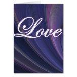 Proverbios del amor 30-18 tarjeta