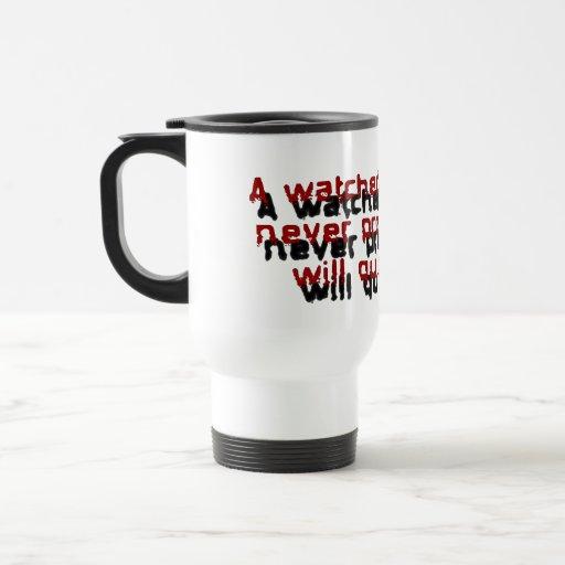 Proverbios del empleado anchos taza de viaje de acero inoxidable