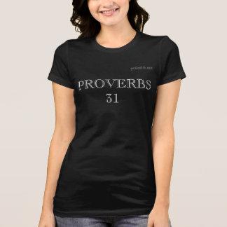 PROVERBIOS gotGod316.com 31 Camiseta