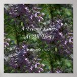 proverbs17-17 ~ Lilacs Posters