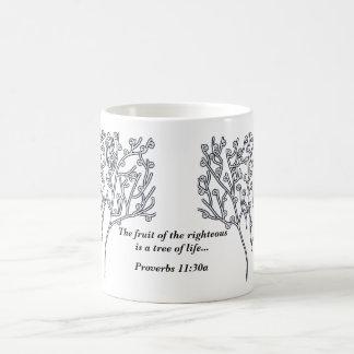 Proverbs 11:30a Tree of Life Morphing Mug