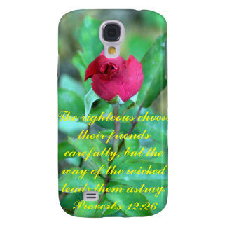 Proverbs 12 26 samsung galaxy s4 cases