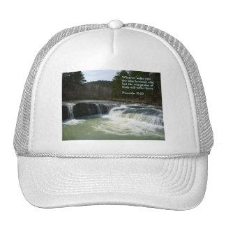 Proverbs 13:20  Waterfall Trucker Hat