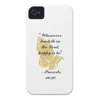 Proverbs 16:20 iPhone 4,4S Shell iPhone 4 Case-Mate Case