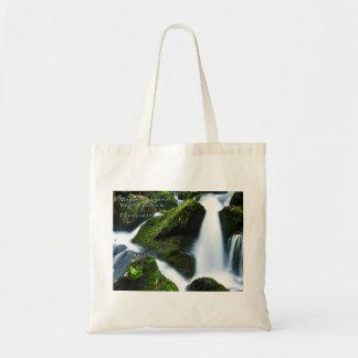 Proverbs 16:22 Waterfall Tote Bag