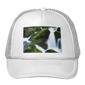 Proverbs 16:22 Waterfall Trucker Hat
