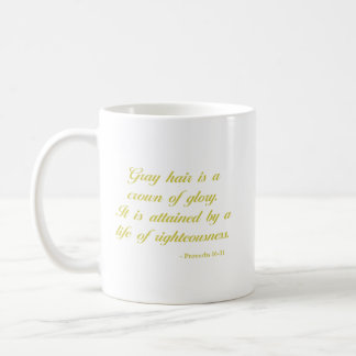 Proverbs 16:31 | Lavender | Bible Verse Coffee Mug
