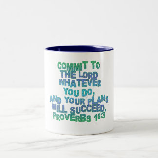 Proverbs 16:3 coffee mugs