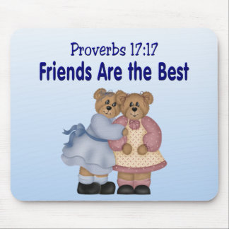 Proverbs 17 17 mouse pad
