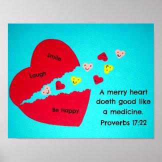 Proverbs 17:22 print