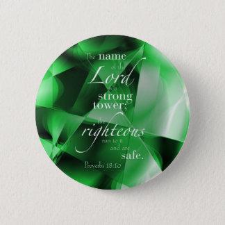 Proverbs 18:10 button
