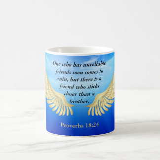 Proverbs 18:24 coffee mug