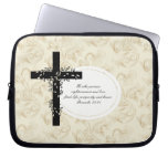 Proverbs 21:21 Laptop or Netbook Carrier Sleeve Laptop Sleeve