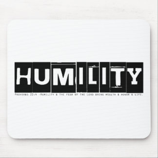 "Proverbs 22:4 ""Humility"" Mouse Pads"