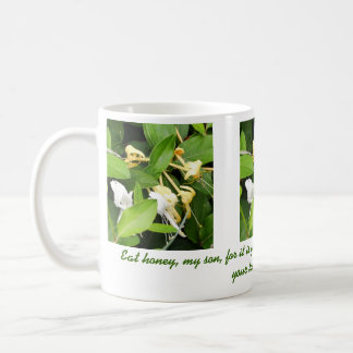 Proverbs 24:13 classic white coffee mug