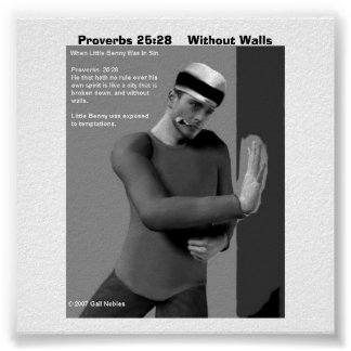 Proverbs 25:28    Without Walls Poster