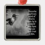 PROVERBS 30:5 ORNAMENT GOD IS A SHIELD