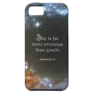 Proverbs 31:10 iPhone SE/5/5s case