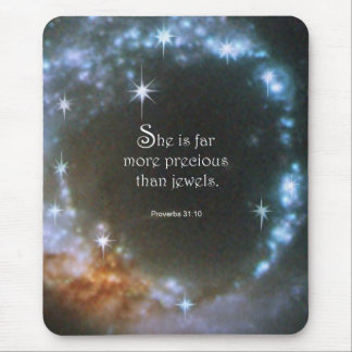 Proverbs 31:10 mouse pad