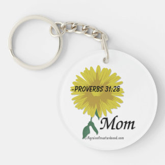 Proverbs 31:28 Mother's Day Keychain