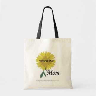 Proverbs 31:28 Mother's Day Tote Bag
