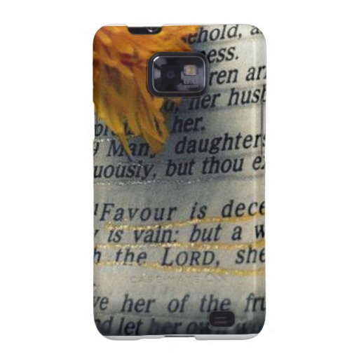 Proverbs 31:30 galaxy SII covers