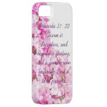 Proverbs 31:30 iPhone 5/5s Case