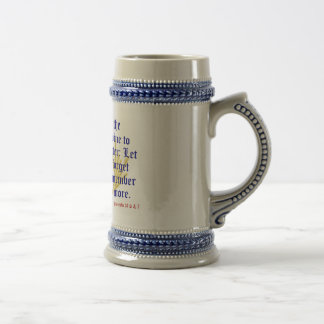 Proverbs 31: 6 & 7 Stein Coffee Mugs
