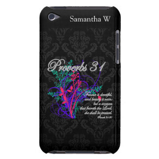 Proverbs 31 Bible Christian Women's Barely There iPod Case