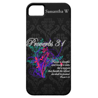 Proverbs 31 Bible Christian Women's iPhone SE/5/5s Case