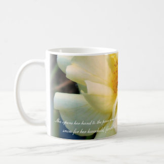 Proverbs 31 Collection Classic White Coffee Mug