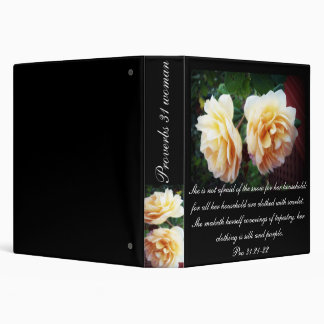 Proverbs 31 Collection ~ Pro 31:22-23 Binder