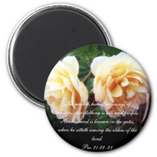 Proverbs 31 Collection ~ Pro 31:22-23 Magnet