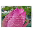 Proverbs 31 Collection ~ Pro 31:24-25 Card