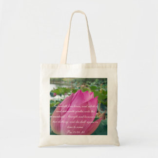 Proverbs 31 Collection ~ Pro 31:24-25 Tote Bag