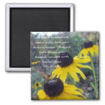 Proverbs 31 Collection ~ Pro 31:26-27 2 Inch Square Magnet
