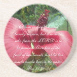 Proverbs 31 Collection ~ Pro 31:30-31 Coasters