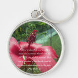 Proverbs 31 Collection ~ Pro 31:30-31 Key Chains