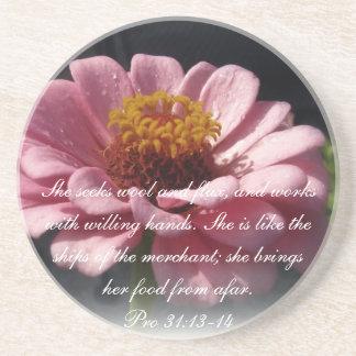 Proverbs 31 Collection ~ Proverbs 31:13-14 Coaster
