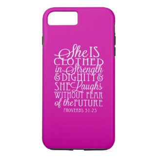Proverbs 31 Gifts - Clothed in Strength & Dignity iPhone 8 Plus/7 Plus Case