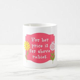 Proverbs 31 Rubies Coffee Mug
