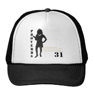 proverbs 31 trucker hat