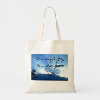 Proverbs 31 Woman Gift Tote Bag
