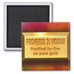 Proverbs 31 Woman Magnet Fridge Magnet