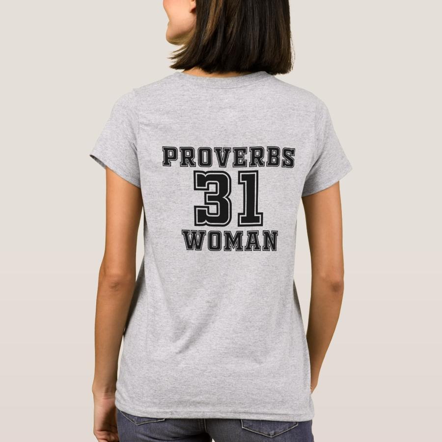 Proverbs 31 Woman T-Shirt - Best Selling Long-Sleeve Street Fashion Shirt Designs