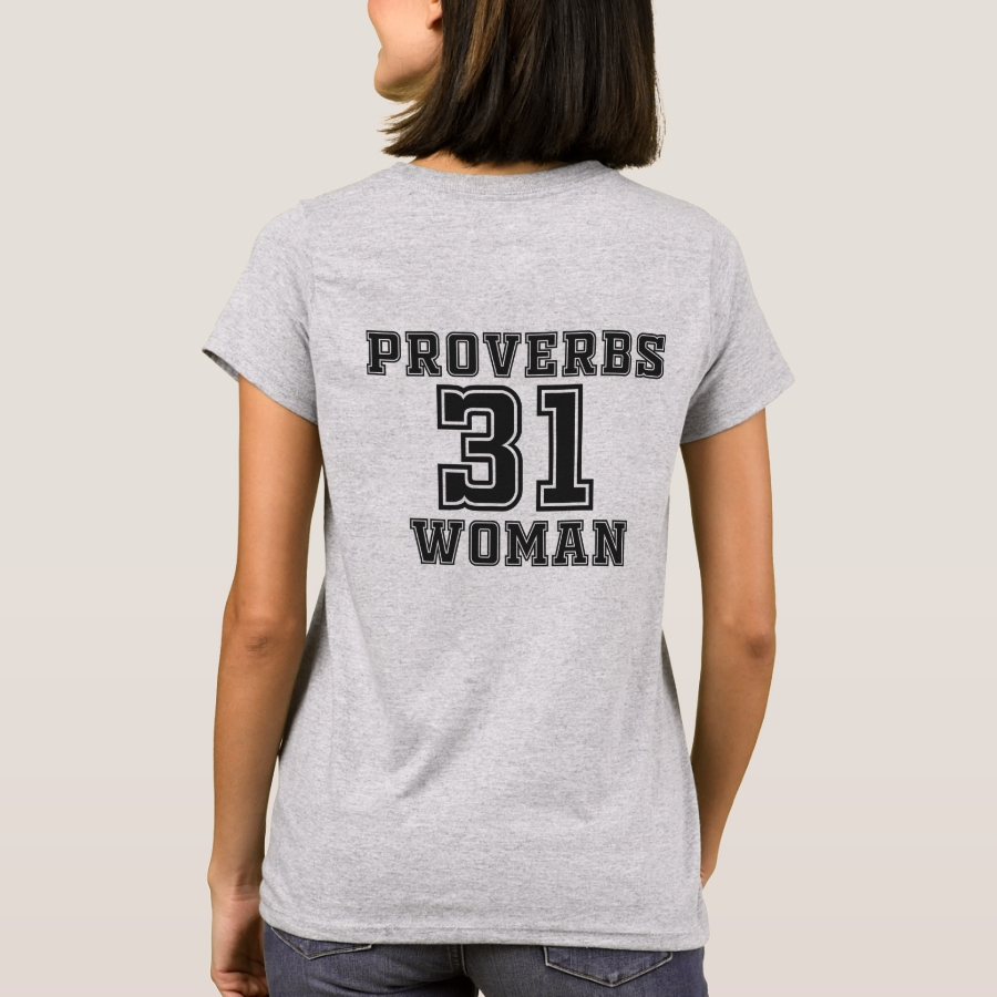 Proverbs 31 Woman T-Shirt - Best Selling Long-Sleeve Street Fashion Shirt Designs