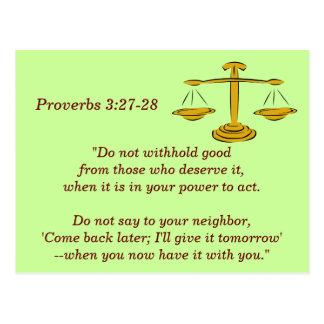 Proverbs 3:27-28 Scripture Memory Card