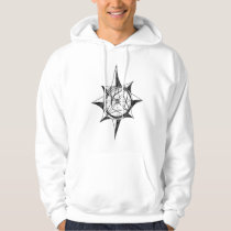 Proverbs 3:5,6 Cool Compass picture Hoodie