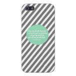 Proverbs 3:5-6 Iphone Phone Case Cover Religious Cover For iPhone 5