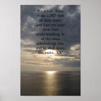 Proverbs 3:5- 6 print